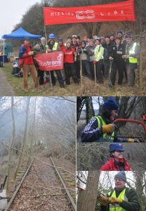 Montage of Chain Gang 1 activity