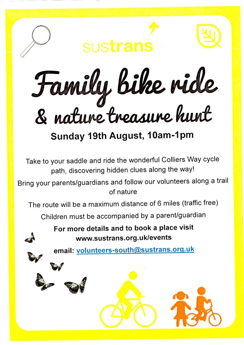 Colliers Way Nature Treasure Hunt Flyer